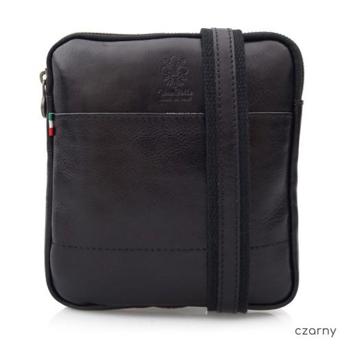 2b24bdab3bbb0 TORBA SKÓRZANA męska torebka na ramię raportówka V379 kolory ...