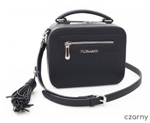 c865af9570e6a FLORA CO torebka sztywna kuferek suwak frędzelek V192 kolory ...